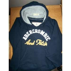 Abercromie,Navy Blue,Large, pull over hoodie Everything