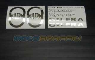 piece chrome Gilera Runner sticker/decal kit