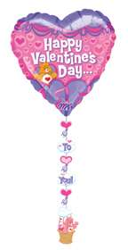 CARE BEARS VALENTINES DAY 24 BALLOONS LOVE BEARS CUTE