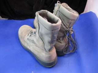 10R WELLCO WOMENS AIR FORCE TW MILITARY COMBAT BOOTS W/ VIBRAM SOLES