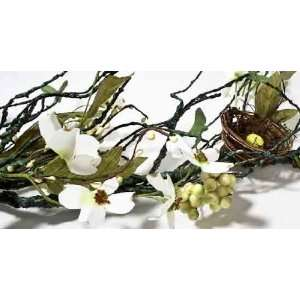 Flowers with Natural Look Birds Nest 4 Feet Long