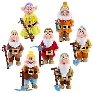 DISNEY Snow Whites SEVEN DWARFS Boxed Set Toys & Games