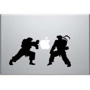 Ken v. Ryu Street Fighter Vinyl Decal Skin for Apple