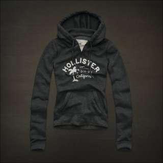 NWT HOLLISTER Abercrombie Womens Sweatshirt Fleece Hoodie S, M, L