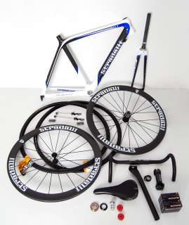 2012 STRADALLI TREBISACCE SL1 CARBON ROAD BIKE BICYCLE KIT 3K BB30