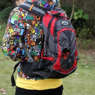 2012 Cycling Bike Bicycle Sports bag Backpack red with Rain cover