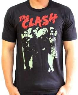 THE CLASH 80s UK Concert Vintage Punk Rock T Shirt S