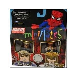 Exclusive Mini Figure 2Pack Cannonball Shatterstar Toys & Games