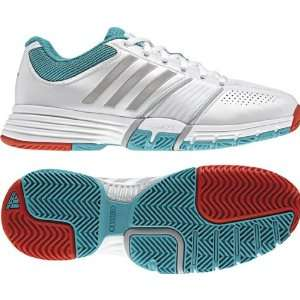 Adidas   Adipower Barricade W Womens Shoes In Running White/Ultragree