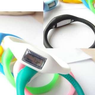 Bracelet Silicone Health Anion Wrist Watch Quartz Women/Men FOB