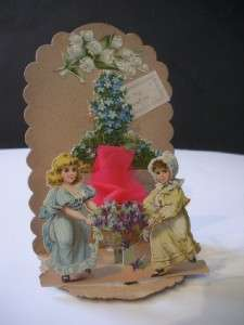 Victorian Valentines Day card Pop up 3D To My Valentine