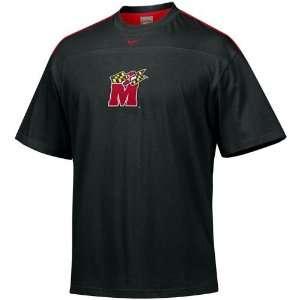 Nike Maryland Terrapins Black Tackle Twill T shirt