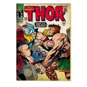 Marvel Comics Retro The Mighty Thor Comic Book Cover #126