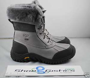 UGG Adirondack Boot II Grey Weatherproof Sz 6 9 NEW