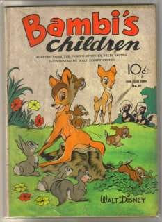 BAMBIs CHILDREN #30 Golden Age Four Color Comic ~ G/VG