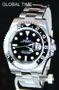 116710 Stainless Steel Ceramic GMT Master M Serial 2008 BOX / PAPER