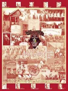 Kappa Alpha Psi 100 Year Anniversary Prints