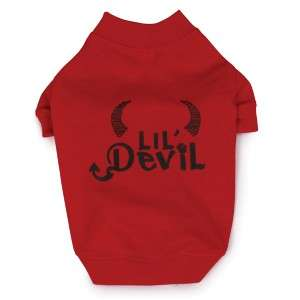 Zack & Zoey Halloween Lil Devil Tee Dog T Shirt