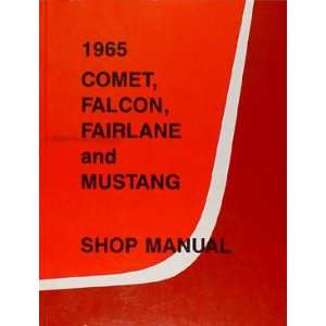 Ranchero Cyclone Comet Repair Shop Manual Ford  Books