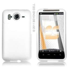 Protector Case HTC Inspire 4G White Cell Phones & Accessories