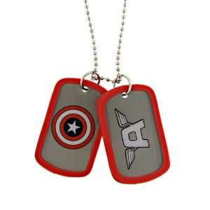 New Series Marvel Comics Captain America Double Dog Tag