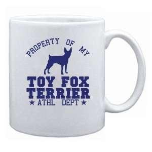 New  Property Of My Toy Fox Terrier   Athl Dept  Mug Dog