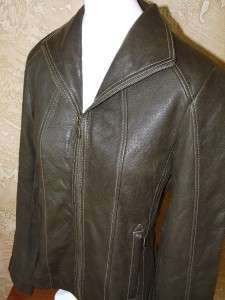 NEW WITH TAGS WOMENS MARC NEW YORK ANDREW MARC LEATHER JACKET
