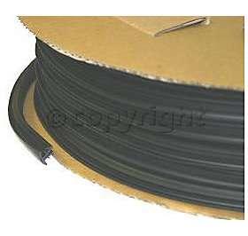 55255971 Front Glass Moulding New Black Le Baron Chrysler LeBaron 89