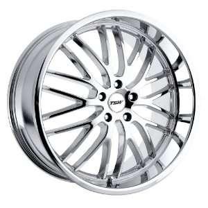 Snetterton (Chrome) Wheels/Rims 5x112 (2010SNT425112C72) Automotive