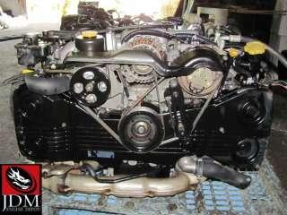 95 96 SUBARU IMPREZA WRX EX GF8 TURBO ENGINE TRANSMISSION ECU JDM