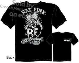 Big Daddy Rat Fink T shirt Ed Roth Ratfink, New Sz M 3X