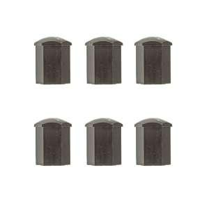 Wheel Lug Nut Covers # 867 601 173   NEW (6 piece)
