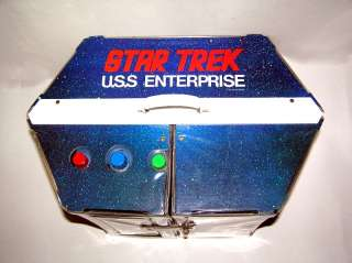 Mego Star Trek USS Enterprise Playset, 6 Figures,1975