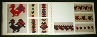 BOOK Croatian Folk Embroidery ethnic pattern costume