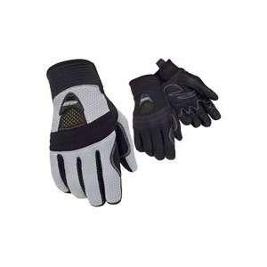 Tour Master Mens Airflow Gloves X Large Black Automotive