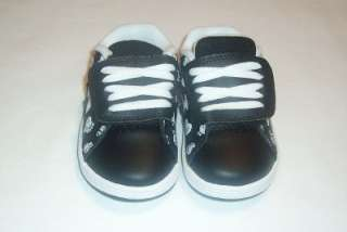 TODDLER BABY GIRLS ETNIES SHOES, SIZE 6T, NEW