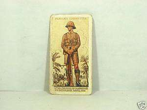 Duke of Cambridges Own John Player + sons Tobacco card
