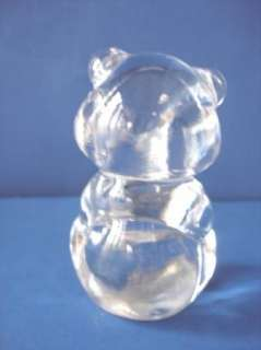 Fenton Crystal Glass Birthday Bear Teddy Bear