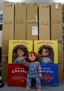 life size NEW Childs Play 2 2005y Medicom toy chucky doll with