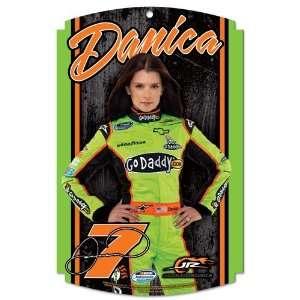 NASCAR Danica Patrick Sign   Wood Style