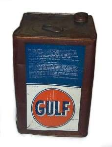 OIL 5 GALLON GEAR LUBRICANT CAN Square Multi Purpose 90 Weight