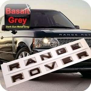 Range Rover Basalt Dark Gun Metal Grey L322 OEM Style Hood Tailgate