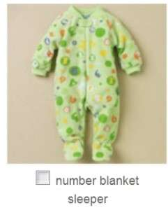 Childrens Place Blanket Sleeper Stretchie Baby Infant