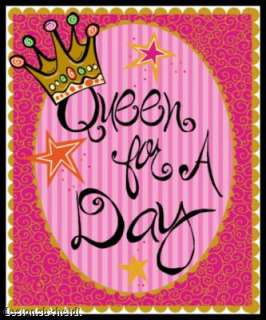 Queen for a Day Birthday Refrigerator Magnet friends