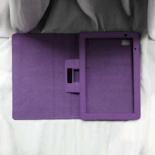 Acer Iconia Tab A500 A501 Folio Leather Case Cover with Stand Green
