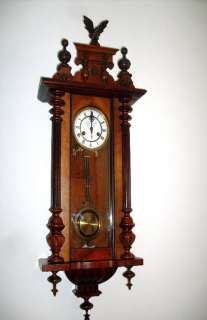 GERMAN WALL CLOCK IN WERY GOOD CONDITION,
