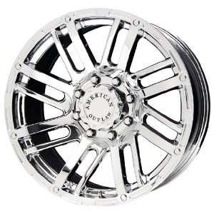 American Outlaw Spur Series Chrome Wheel (16x8/5x139.7mm)