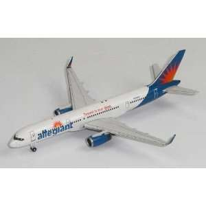 Gemini Jets Allegiant B757 200W Model Airplane Everything