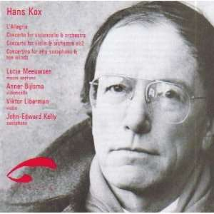 Hans Kox / Lallegria / Violin Concerto / Cello Concerto / Saxophone