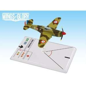 Wings of Glory: Curtiss P 40E Warhawk A: Toys & Games